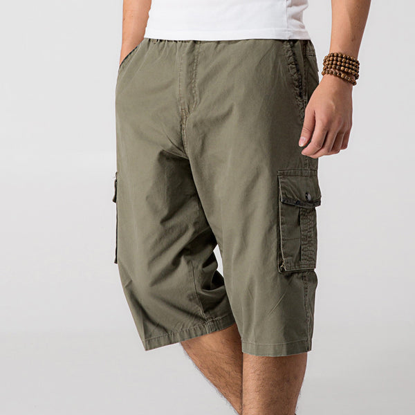 76e9992b8b210 ... Thin Summer Short Man Xl-6Xl Plus Size Casual Short-Pants Army Multi-  ...