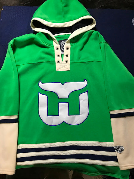 competitive price 494cc a970c Throwback Hockey Jersey Customize Any Name Any Number High Quality Stitched  Men Hoodie Sweater Jerseys S-6XL
