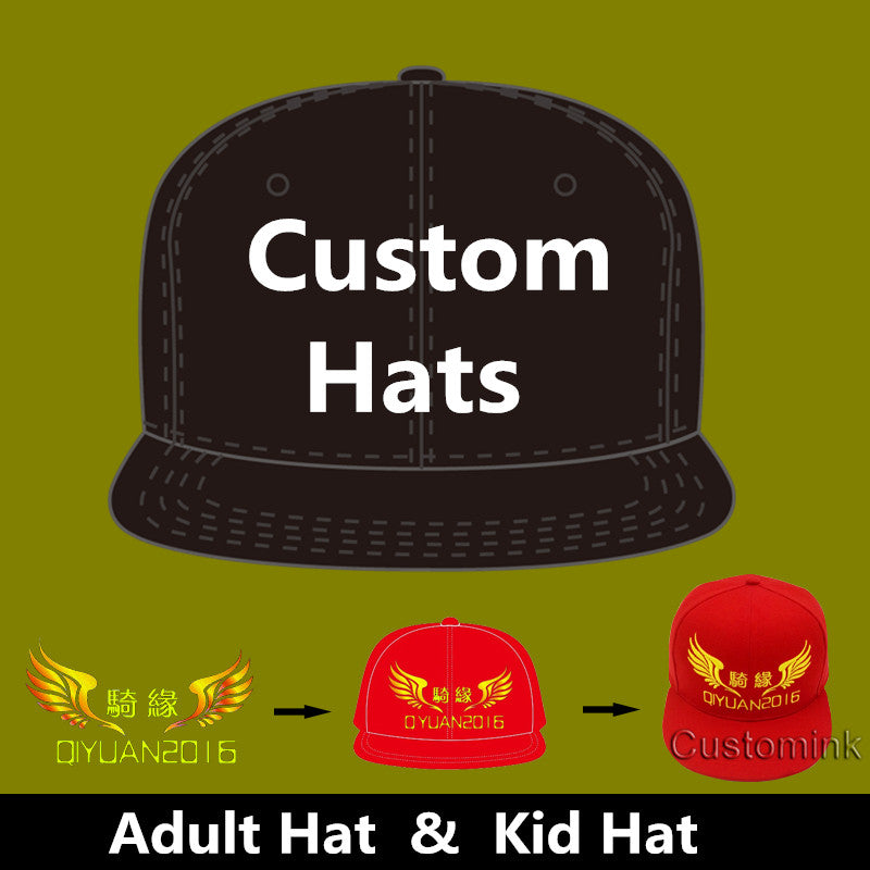 afc354a343a5f Wholesale 10PCS LOT Personalized Snapback Cap Custom Baseball Hat truc –  Thekingwarehouse