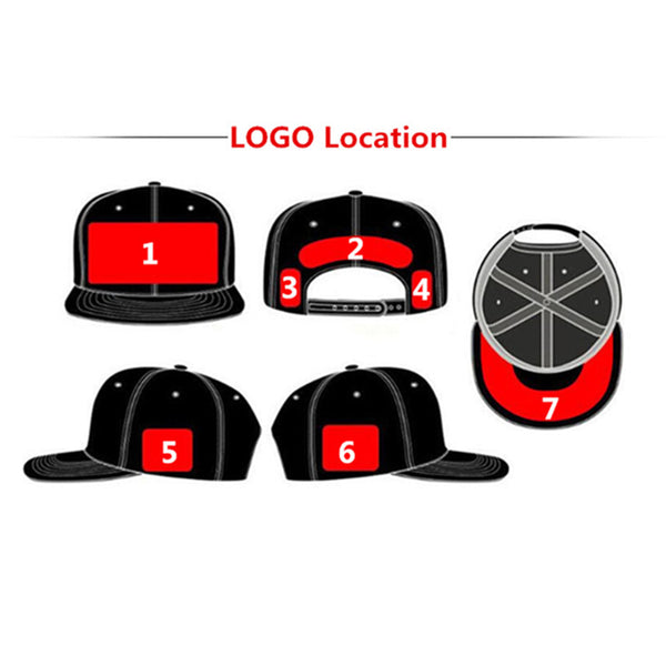 063f4c7110d1e ... Wholesale 10PCS LOT Personalized Snapback Cap Custom Baseball Hat  trucker cap Adult Children size Embroidery ...