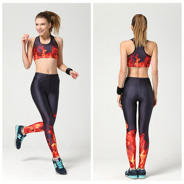 6182c00858 ... Wholesale Yoga Suits Fitness Shorts With GYM Bra Clothing Set Workout  Leggings Vest Blue Solid Track ...