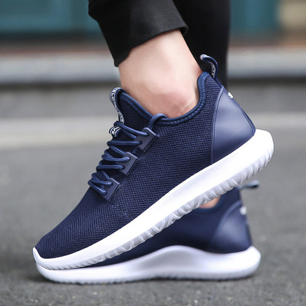 ca1500703 ... XEK 2018 Light Running Sneakers For Men Yeezys Air Men Sports Shoes  Black Blue White Sneakers ...