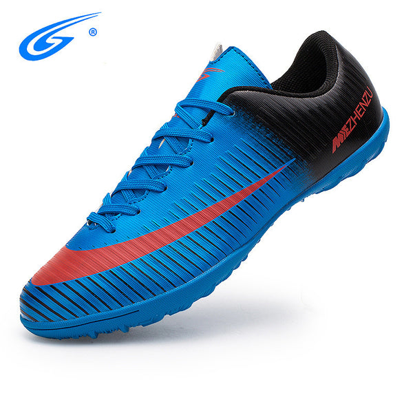 326b6542fa6 ... ZHENZU Professional Men Kids Turf Indoor Soccer Shoes Cleats Original Superfly  futsal Football Boots Sneakers chaussure ...