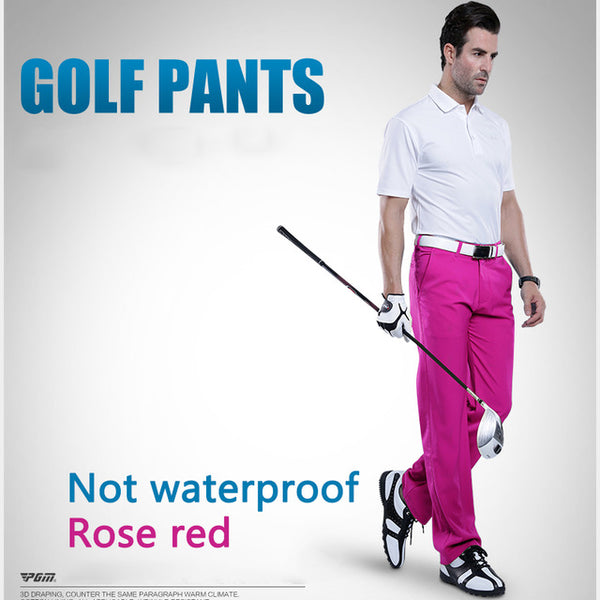 3cb63bbfd21 ... golf clubs Golf clothing mens pants golf trousers for men quick dry  golf summer thin clothes ...