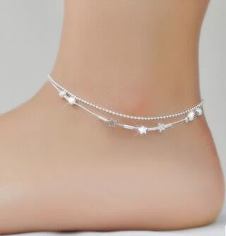 silver com for dp cool shegrace women beach bar anklet sterling with tube amazon anklets