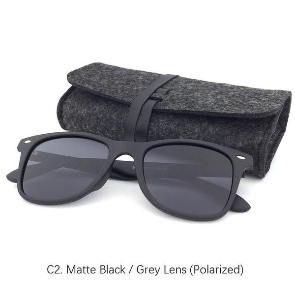 8b14581a9d ... BASIC FOR SUMMER Classic Polarized Sunglasses Men Women Fashion Brand Sun  glasses with pouch TR90 Frame ...