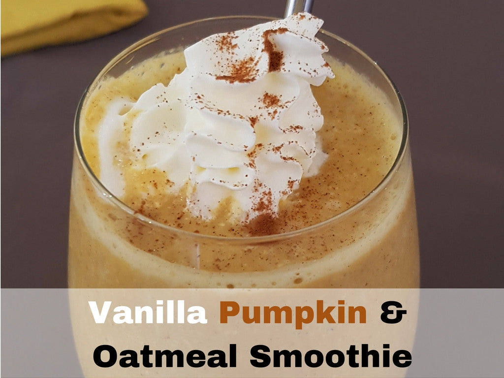 Vanilla Pumpkin & Oats Smoothie Recipe
