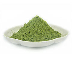 kale powder colour texture
