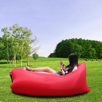 Charmant ... Fast Inflatable Lounge Bed, Air Bed For Camping, Hiking, Bed Beach Sofa  Lounge