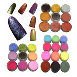 COLOURED ACRYLIC POWDER ~ JOSS ~ NAIL ART Collection