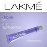 K.BLONDE ~ PERFECT TONER ~ LAKME Collection