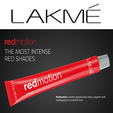 RED MOTION ~ INTENSE RED SHADES ~ LAKME Collection