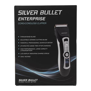 Silver Bullet Black Lithium Pro 100 CORD/CORDLESS CLIPPER