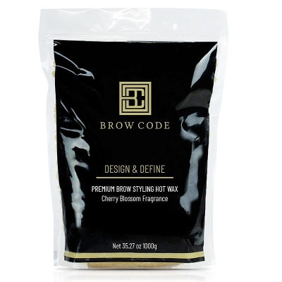 PREMIUM BROW STYLING HOT WAX ~ DESIGN & DEFINE ~ BROW CODE Collection