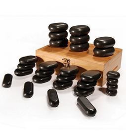 28 PIECE ~ HOT STONE SET ~ BODY MASSAGE Collection