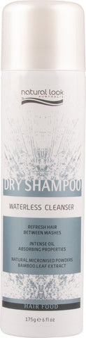 DRY SHAMPOO ~ WATERLESS CLEANSER 175g ~ NATURAL LOOK Collection
