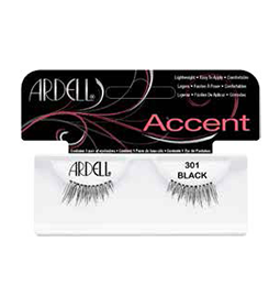 301 BLACK ~ ACCENT STRIP LASH RANGE ~ ARDELL Collection
