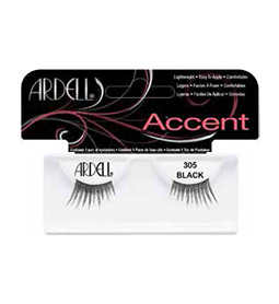305 BLACK ~ ACCENT STRIP LASH RANGE ~ ARDELL Collection