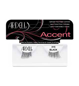 315 BLACK ~ ACCENT STRIP LASH RANGE ~ ARDELL Collection