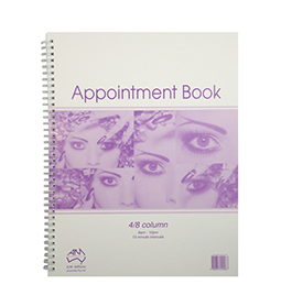4/8 COLUMN ~ APPOINTMENT BOOK ~ AMW Collection
