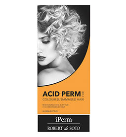 ACID PERM ~ COLOURED / DAMAGED HAIR ~ ROBERT DE SOTO Collection