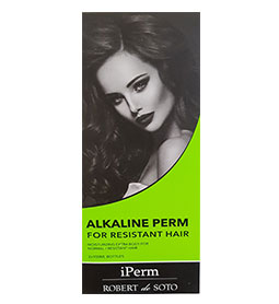 ALKALINE ~ NORMAL / RESISTANT HAIR ~ ROBERT DE SOTO Collection