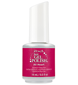 ALL HEART ~ 14ml ~ JUST GEL POLISH ~ IBD Collection