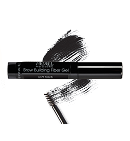 SOFT BLACK ~ BROW BUILDING FIBER GEL ~ ARDELL Collection