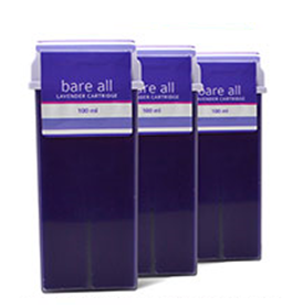 LAVENDAR ~ STRIP WAX CARTRIDGE ~ BARE ALL Collection