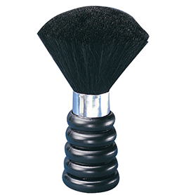 BLACK PLASTIC HANDLE ~ NECK BRUSH Collection