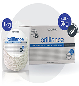 BRILLIANCE ~ BEADED ~ HOT/HARD WAX ~ CARON Collection
