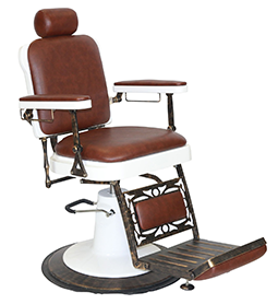 Chicago ~ Brown ~ Barber Chair ~ Joiken Collection ~ Rubys Salon Supplies