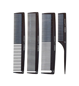 C-STYLIST 4 PACK ~ CARBON COMB RANGE ~ CRICKET Collection
