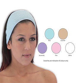 HEAD BANDS ~ (Pack of 2) ~ DOUBLE SIDED TOWELLING ~ SUNDRIES Collection