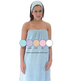 BODY WRAP ~ DOUBLE SIDED TOWELLING ~ SUNDRIES Collection