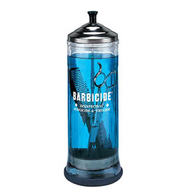 BARBERCIDE ~ DISINFECTING GLASS JAR ~ SANITISING Collection