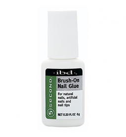 5 SECONDS ~ BRUSH-ON NAIL GLUE 6g ~ IBD Collection