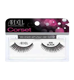 500 BLACK ~ CORSET STRIP LASH RANGE ~ ARDELL Collection