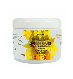 YELLOW ~ COLOURED POWDERED BLEACH ~ SALON SMART Collection
