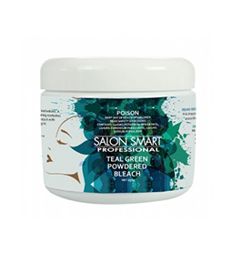 TEAL GREEN ~ COLOURED POWDERED BLEACH ~ SALON SMART Collection