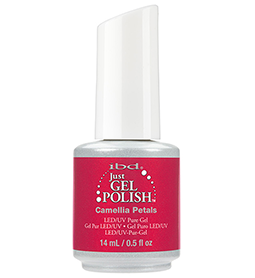 CAMELLIA PETALS ~ 14ml ~ JUST GEL POLISH ~ IBD Collection