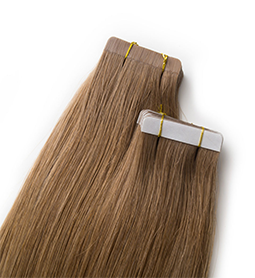 CARAMEL ~ HUMAN HAIR ~ 21 INCHES ~ S1 TAPE EXTENSION Collection