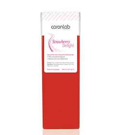 STRAWBERRY DELIGHT ~ FIXED HEAD ~ STRIP WAX CARTRIDGE ~ CARON Collection