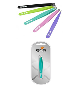 GRIP TWEEZERS ~ MATTE COLOUR RANGE ~ CARON Collection
