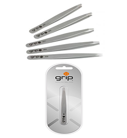 GRIP TWEEZERS ~ STAINLESS STEEL RANGE ~ CARON Collection