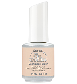 CASHMERE BLUSH ~ 14ml ~ JUST GEL POLISH ~ IBD Collection