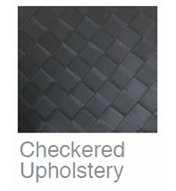 Checkered Upholstery ~ Joiken Collection ~ Rubys Salon Supplies