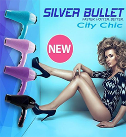 CITY CHIC DRYER~SILVER BULLET Collection