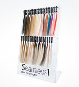 S1 ~ HAIR EXTENSION ~ COLOUR STAND (L) ~ SEAMLESS1 Collection