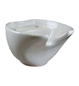 Coral ~ White Ceramic Basin ~ Joiken Collection ~ Rubys Salon Supplies